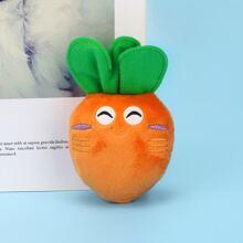 Juguete de masticar en forma de zanahoria
