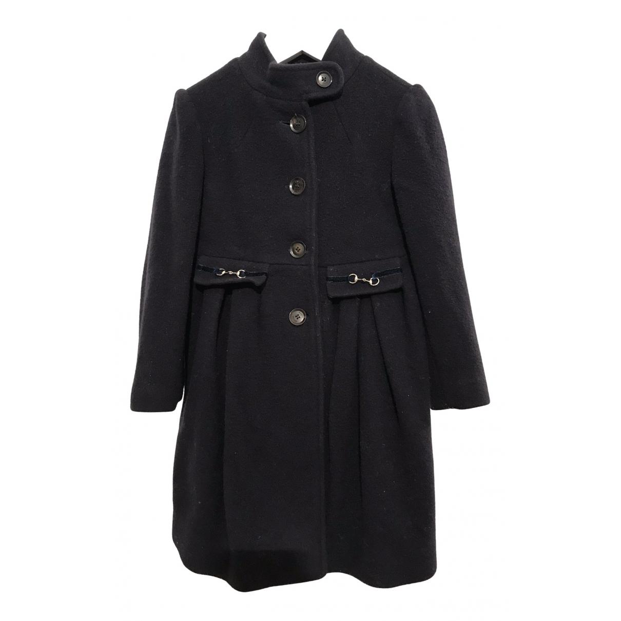 Gucci - Blousons.Manteaux   pour enfant en laine - bleu
