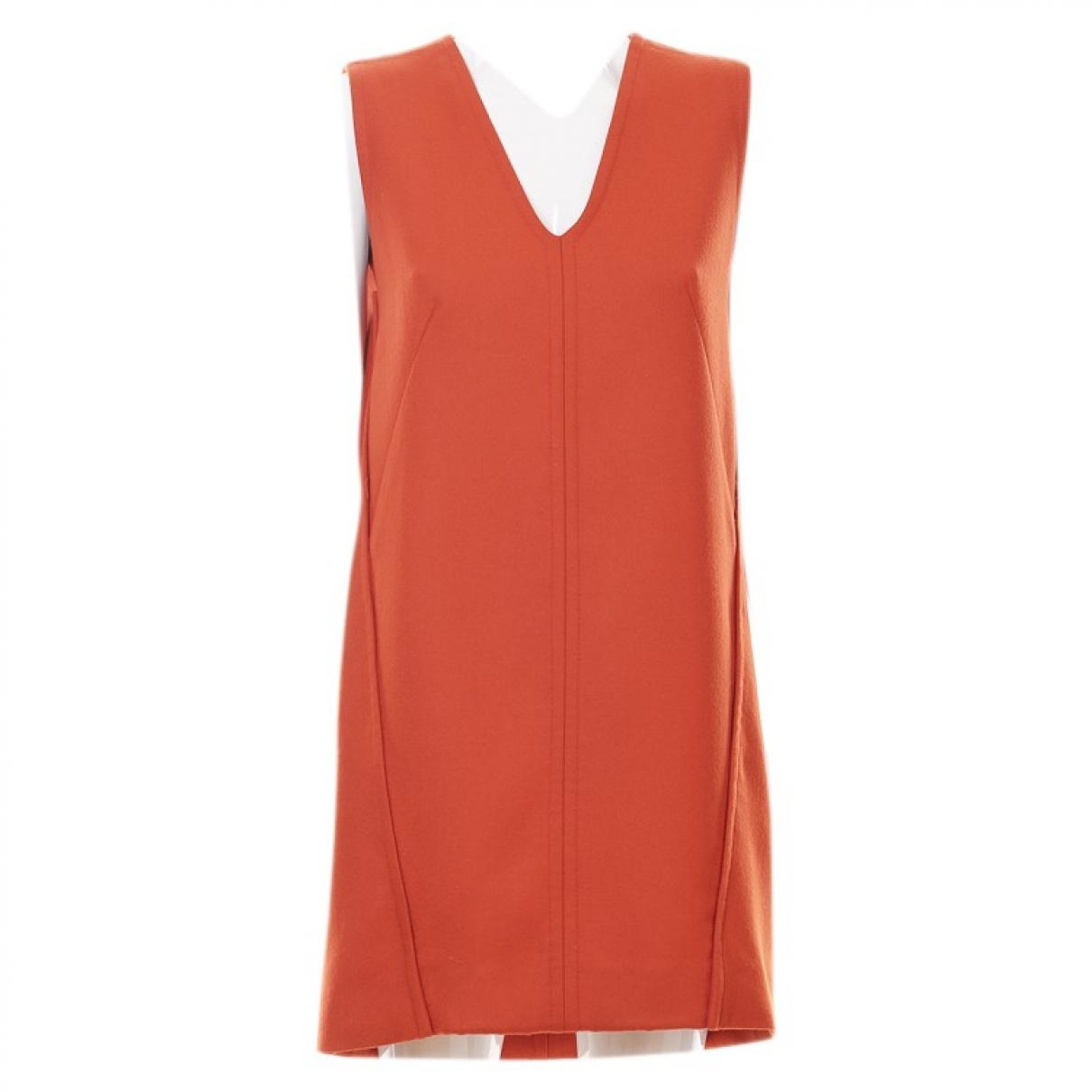 Stella Mccartney - Robe   pour femme en laine - orange