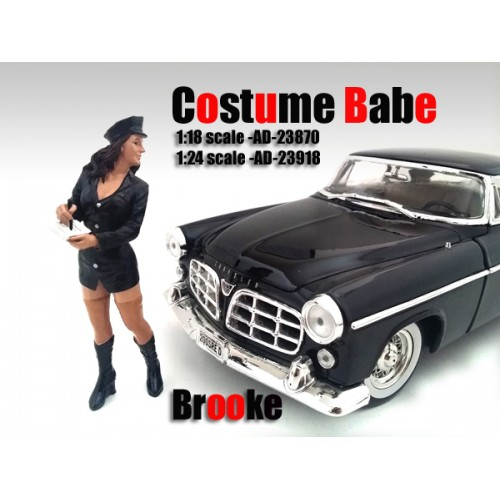 Costume Babe Brooke Figure For 118 Scale Models by American Diorama