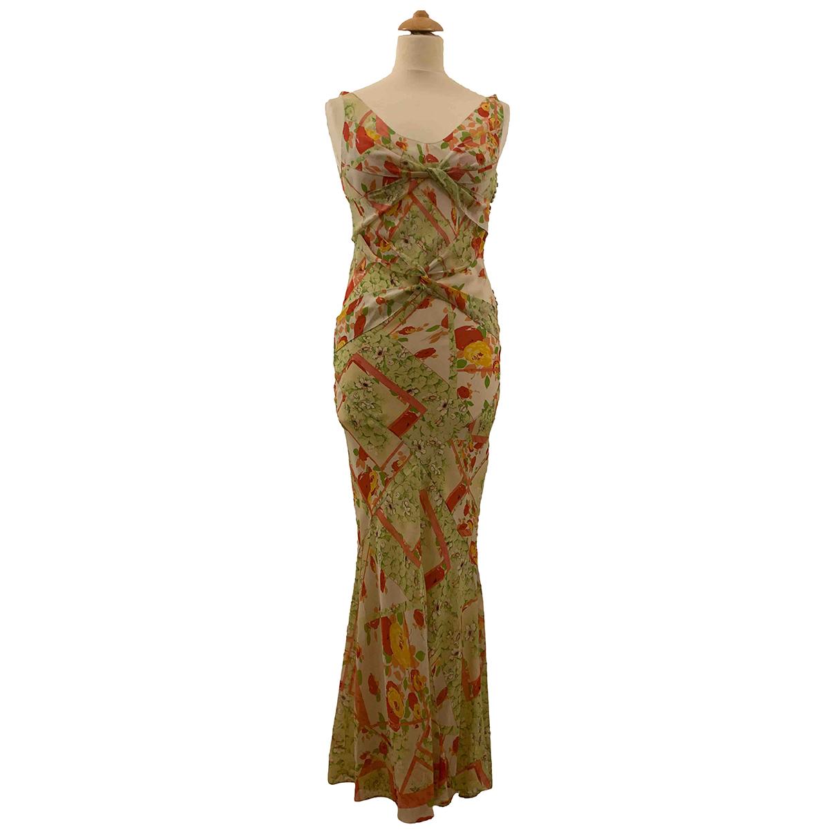 Dior \N Kleid in  Bunt Seide