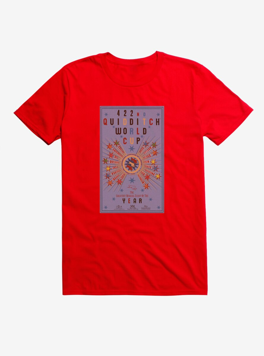 Harry Potter Quidditch World Cup T-Shirt