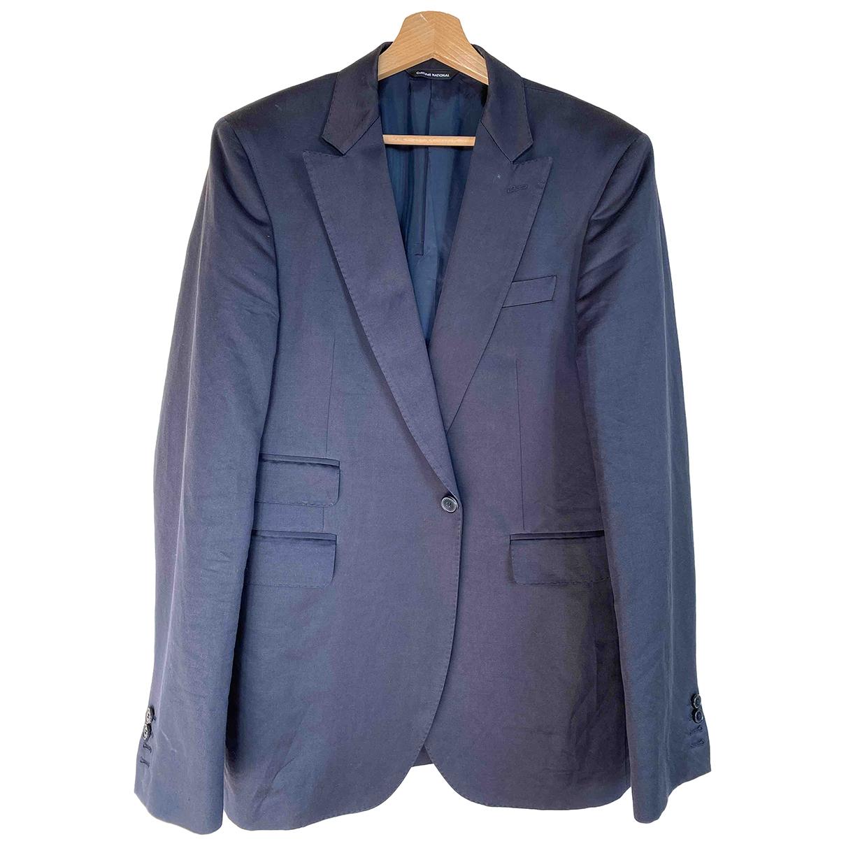 Costume National - Costumes   pour homme en coton - bleu