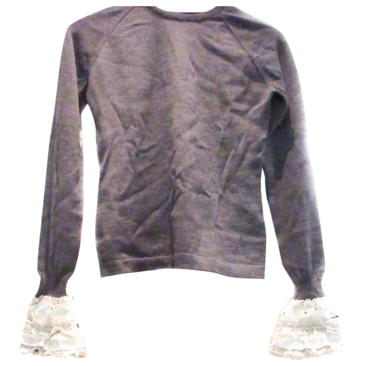 Paul Smith - Pull   pour femme en coton - gris