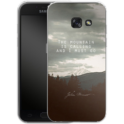 Samsung Galaxy A3 (2017) Silikon Handyhuelle - The Mountain Is Calling von Leah Flores