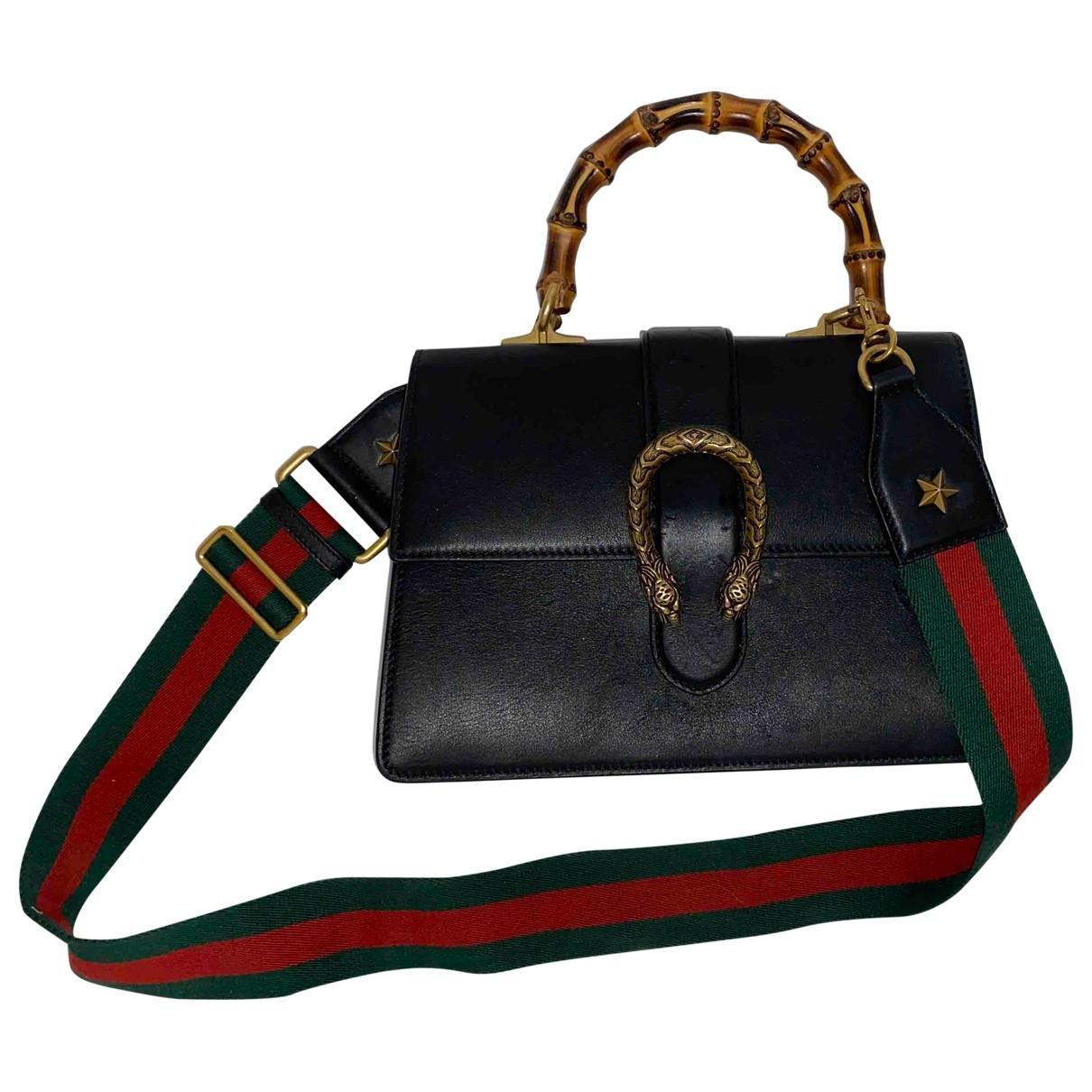 Gucci - Sac a main Dionysus pour femme en cuir - noir