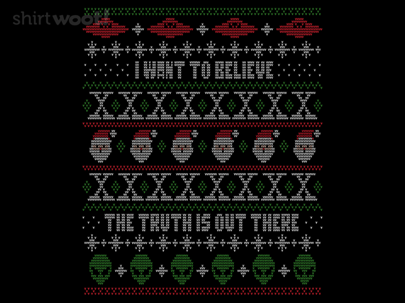 I Want To Believe T Shirt