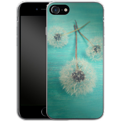 Apple iPhone 7 Silikon Handyhuelle - Three Wishes von Joy StClaire