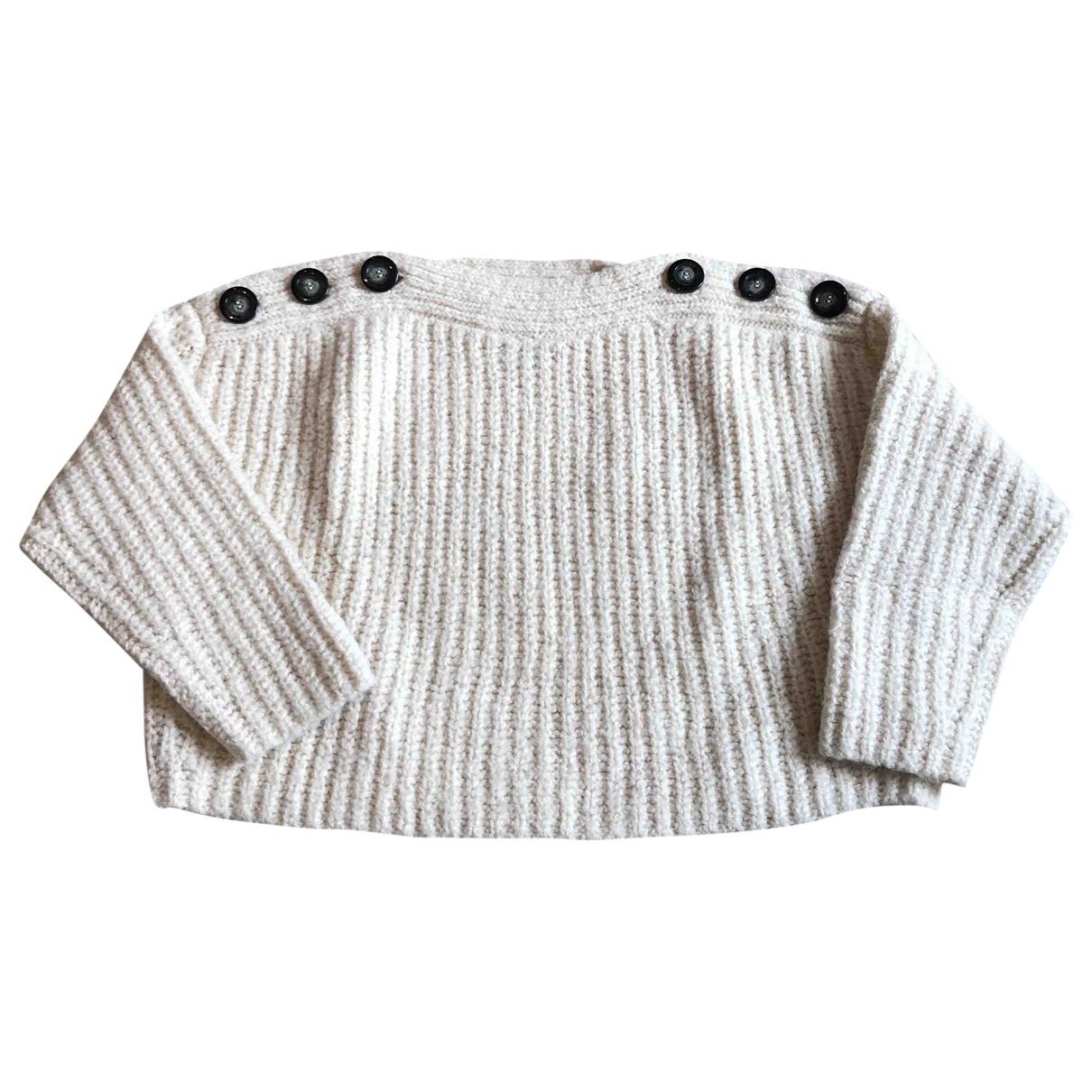 Isabel Marant - Pull   pour femme en laine - ecru