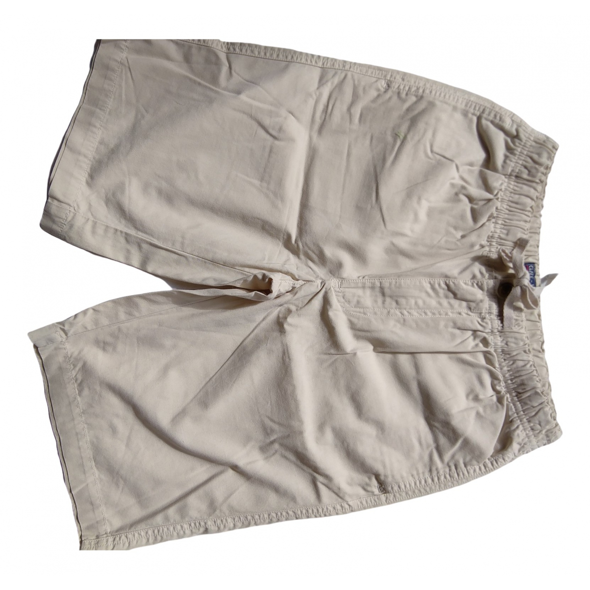 Gant - Short   pour enfant en toile - beige