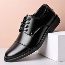 Zapatos de vestir con cordon delantero