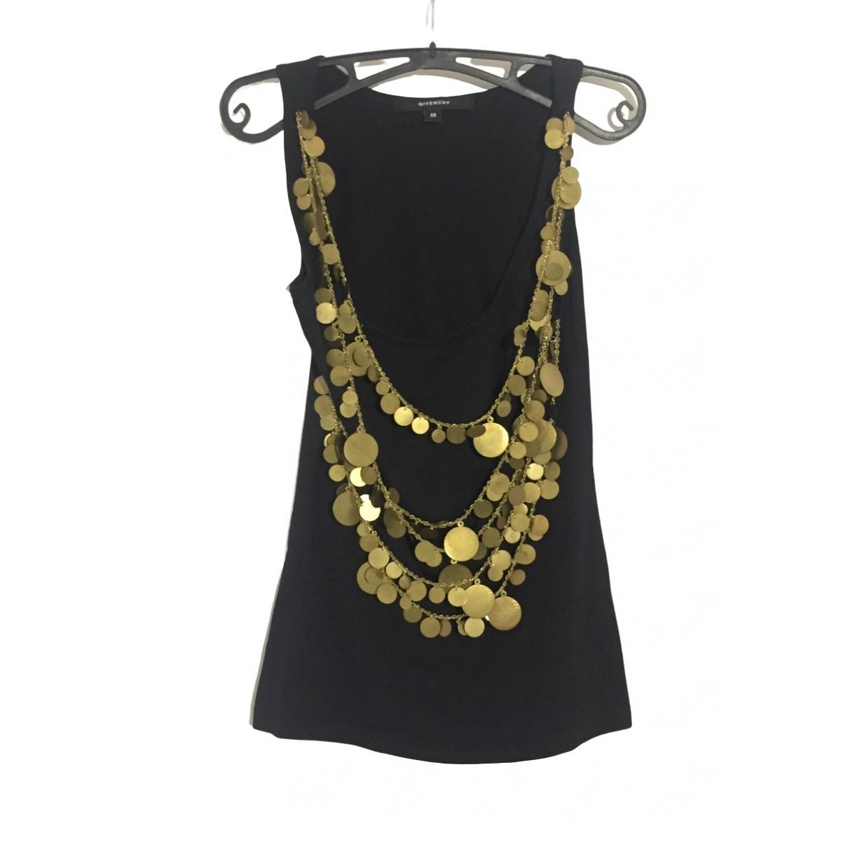 Givenchy - Top   pour femme en coton - noir