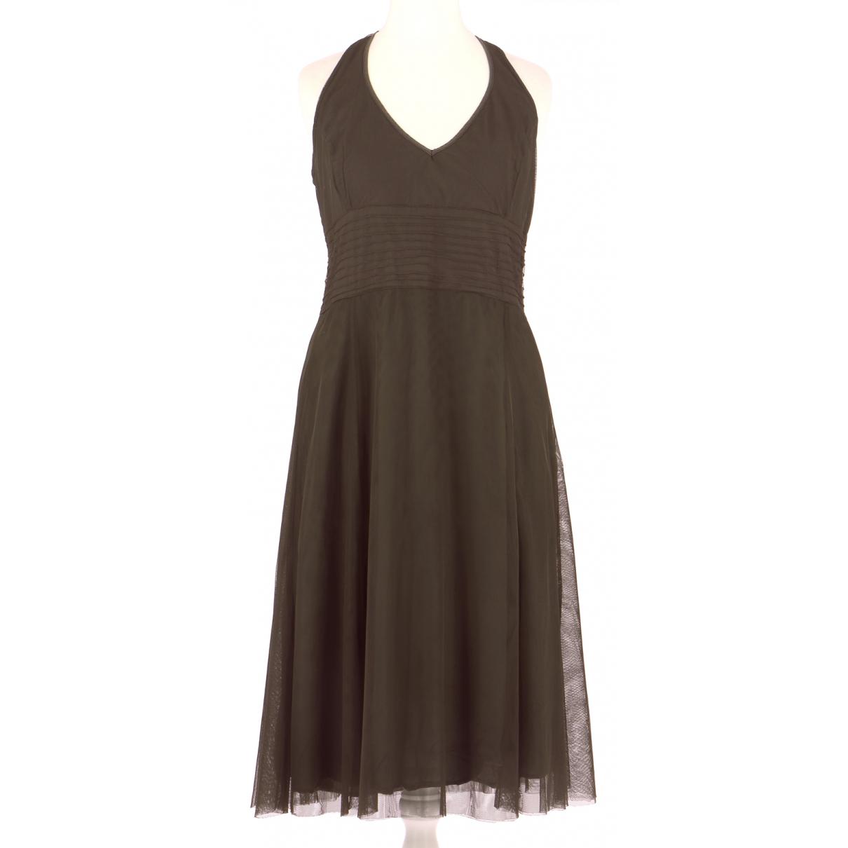 Autre Marque \N Kleid in  Braun Polyester