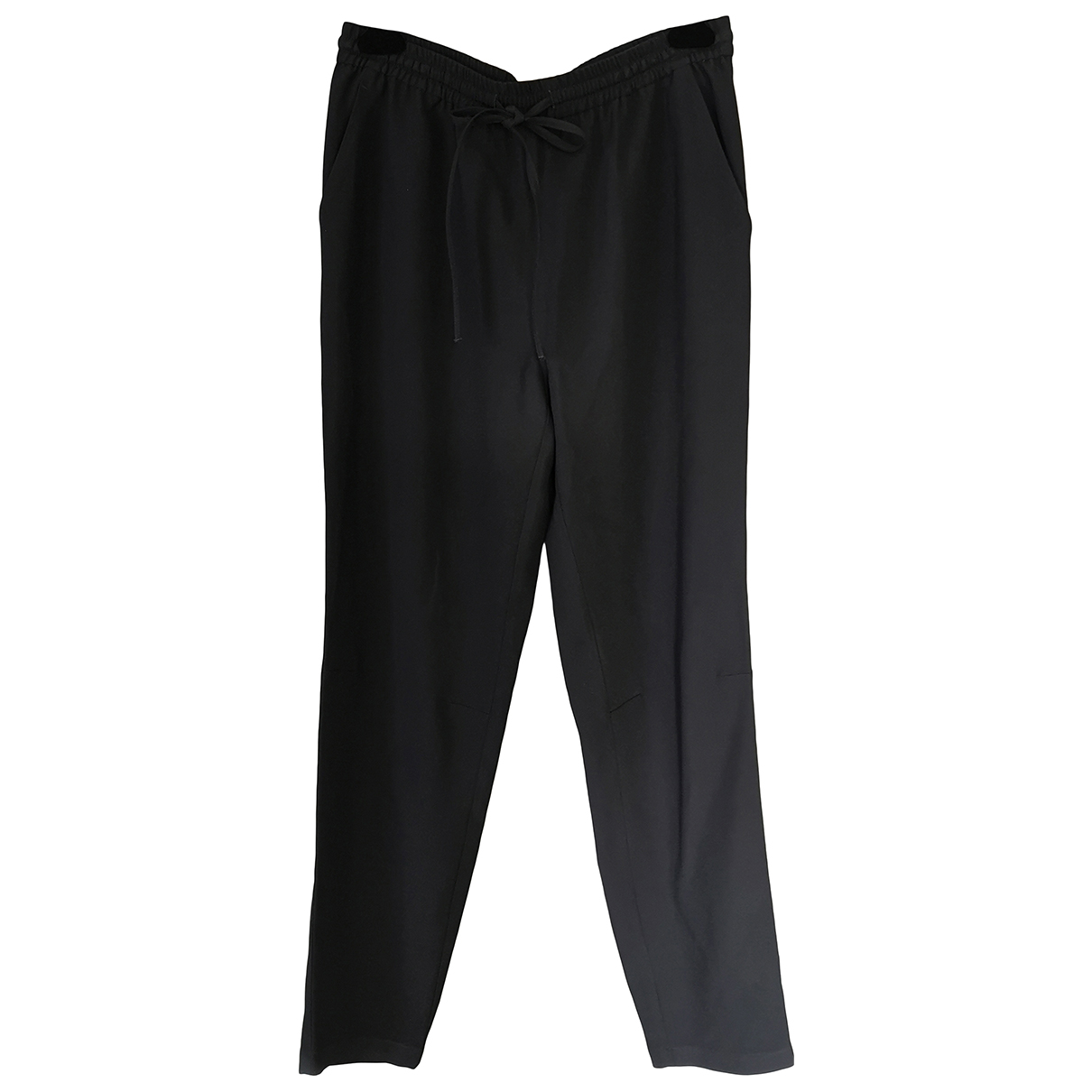 Red Valentino Garavani N Black Trousers for Women 44 IT