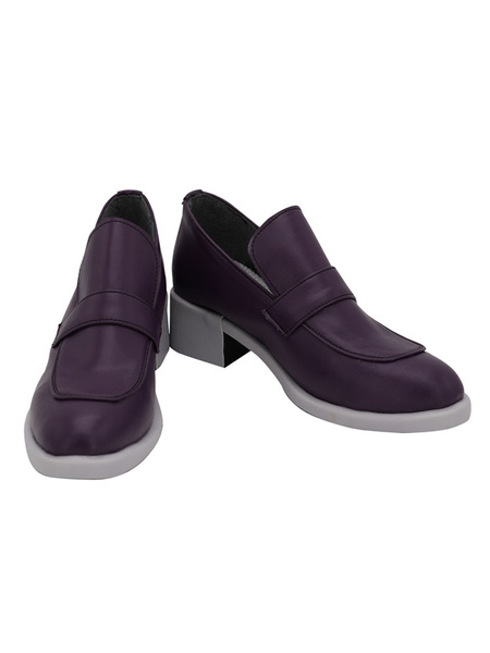 Milanoo JoJos Bizarre Adventure Golden Wind Vinegar Doppio Diavolo Cosplay Shoes