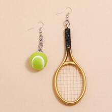 Mini Ohrringe mit Tennis Dekor
