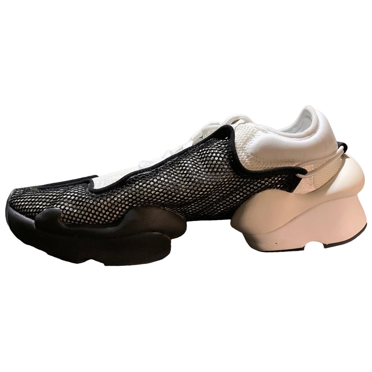 Y-3 \N Sneakers in  Weiss Leinen