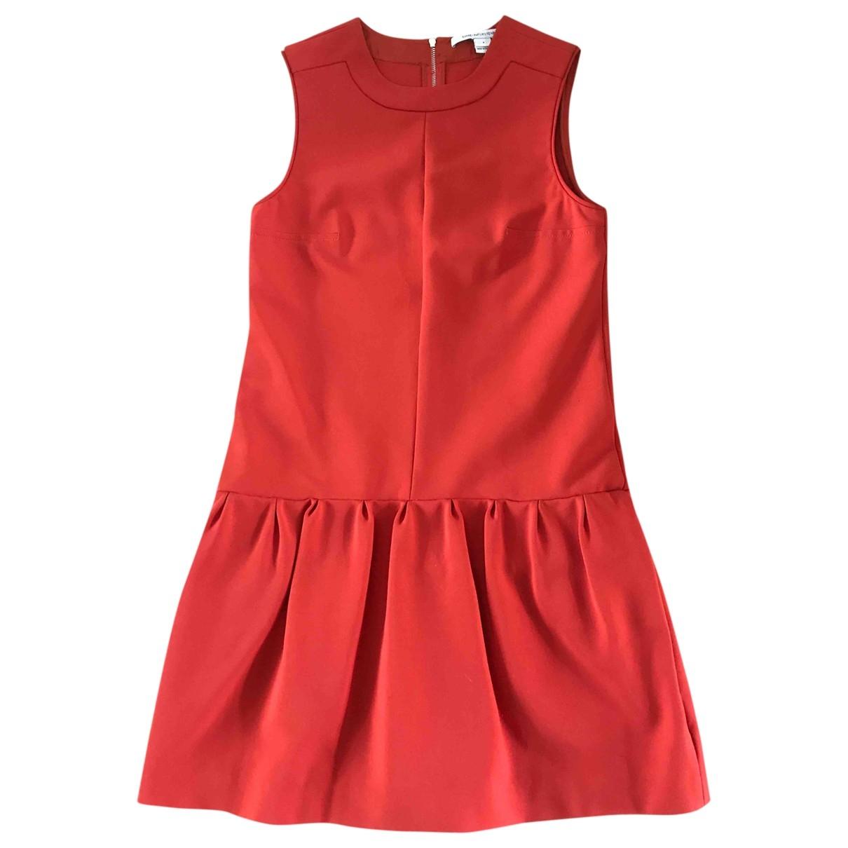 Diane Von Furstenberg \N Orange dress for Women 4 US