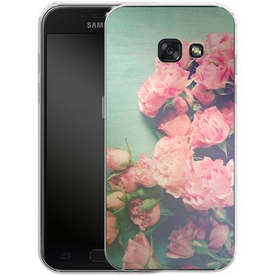 Samsung Galaxy A3 (2017) Silikon Handyhuelle - Garden Party von Joy StClaire