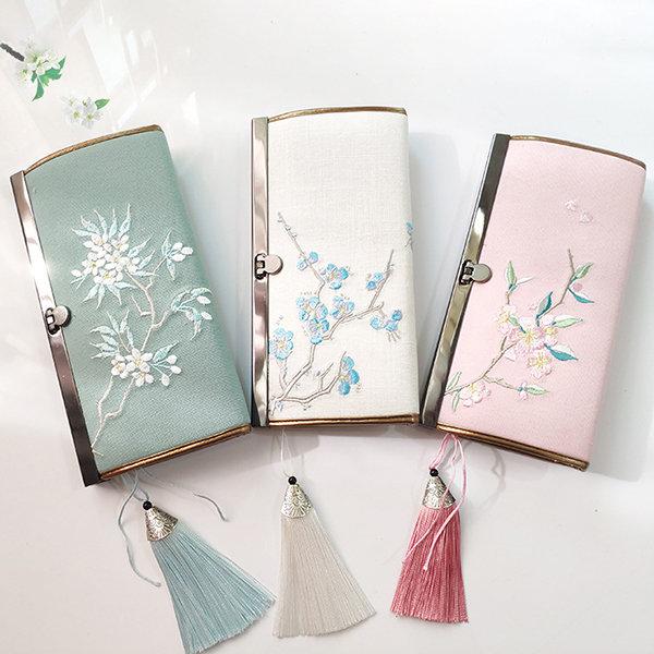 Women National Style Multi-function Wallet Purse