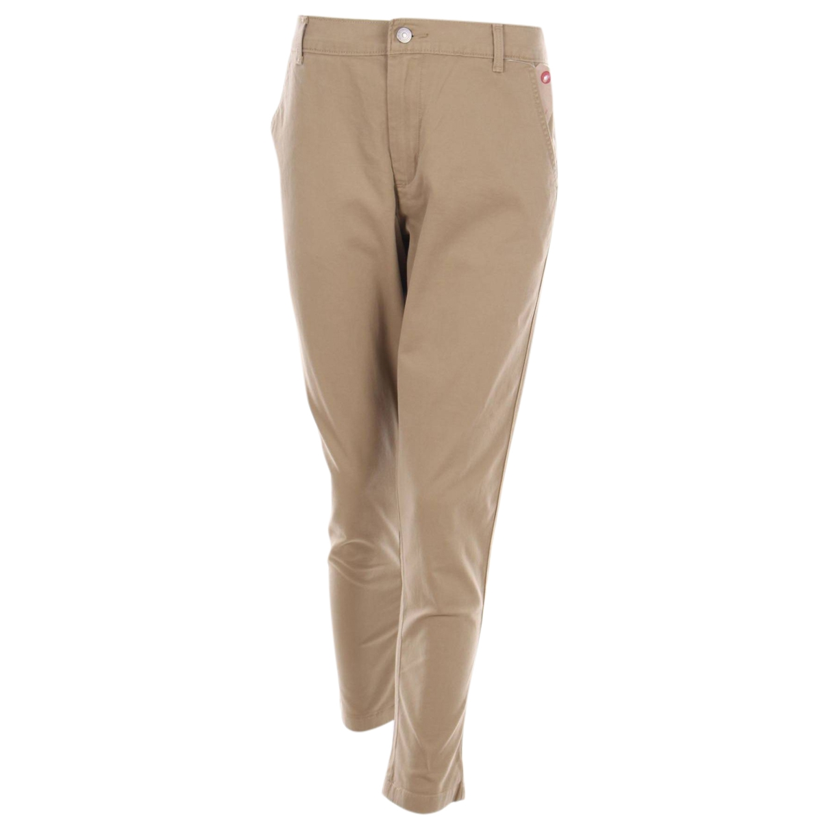 Levi's \N Beige Cotton Trousers for Women L International