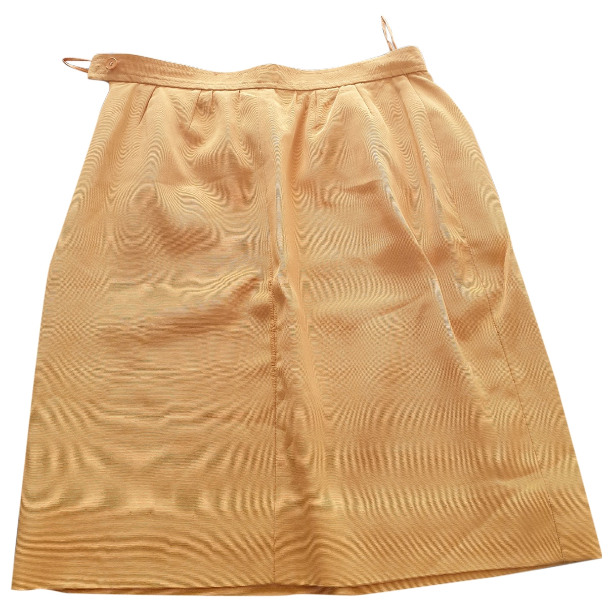 Saint Laurent \N Yellow skirt for Women 40 FR