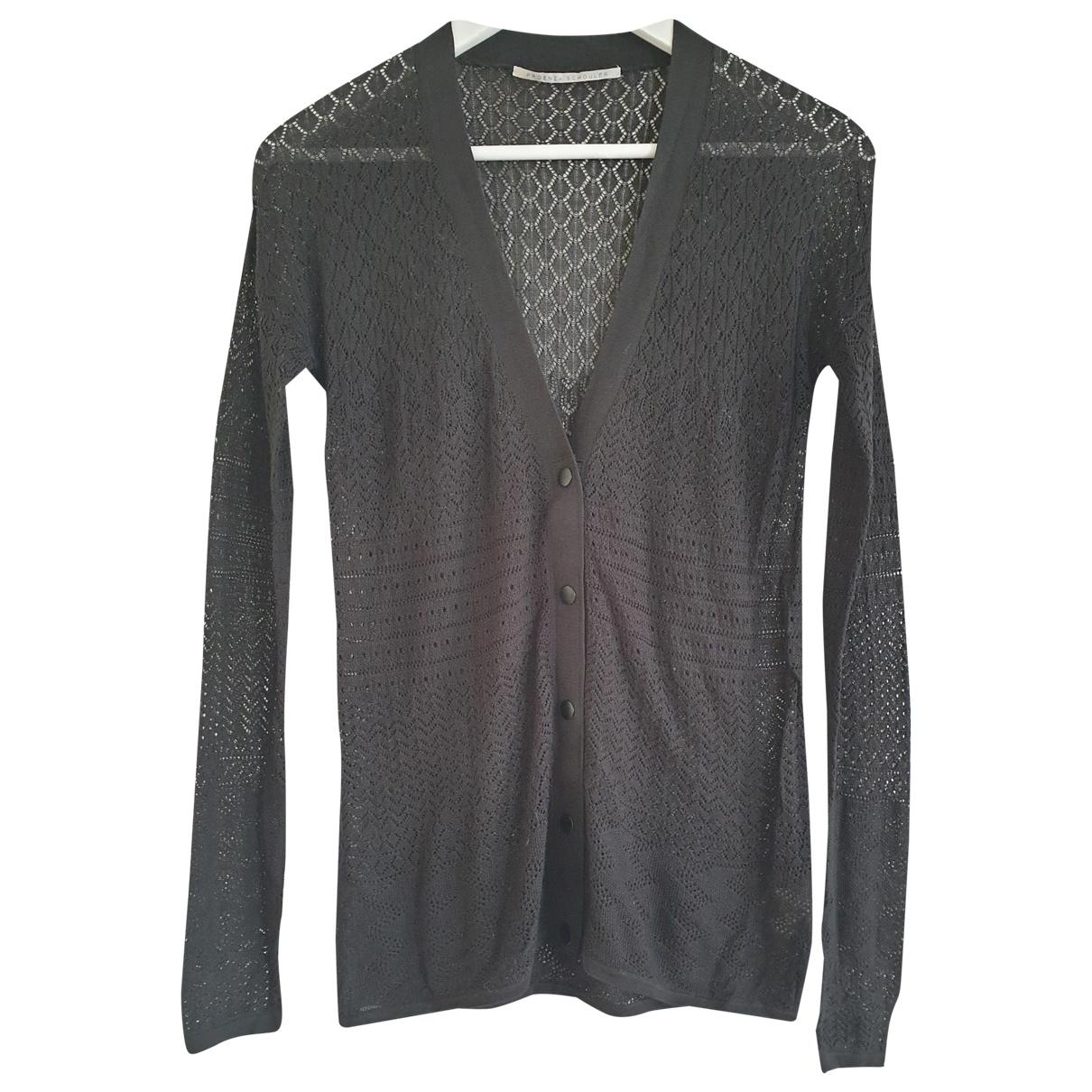 Proenza Schouler \N Pullover in  Schwarz Seide