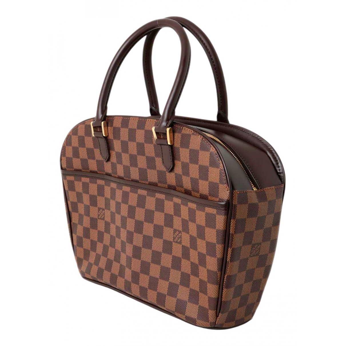 Louis Vuitton - Sac a main Sarria pour femme en toile - marron