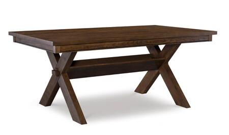 D1248D19DTB Turino Collection Dining Table in Rustic
