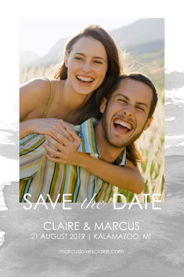 Wedding Magnets, Gift -Save the Date Watercolor
