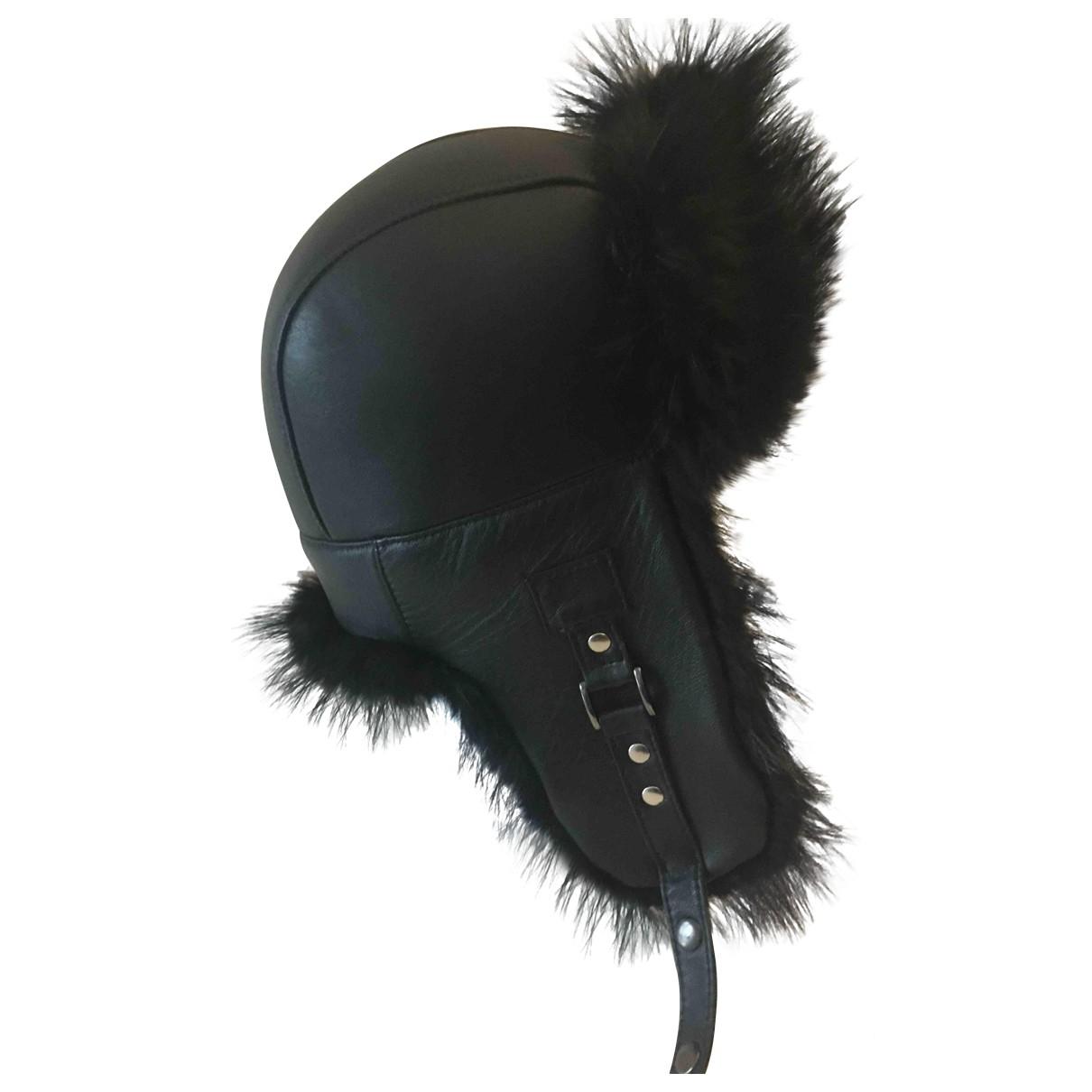- Chapeau & Bonnets   pour homme en castor - noir