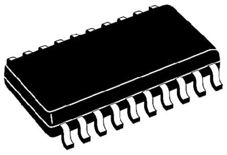 Nexperia 74HCT541D,653 Octal-Channel Buffer & Line Driver, 3-State, 20-Pin SOIC (2000)