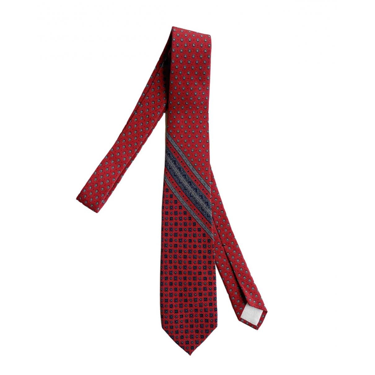 Yves Saint Laurent - Cravates   pour homme en soie - rouge
