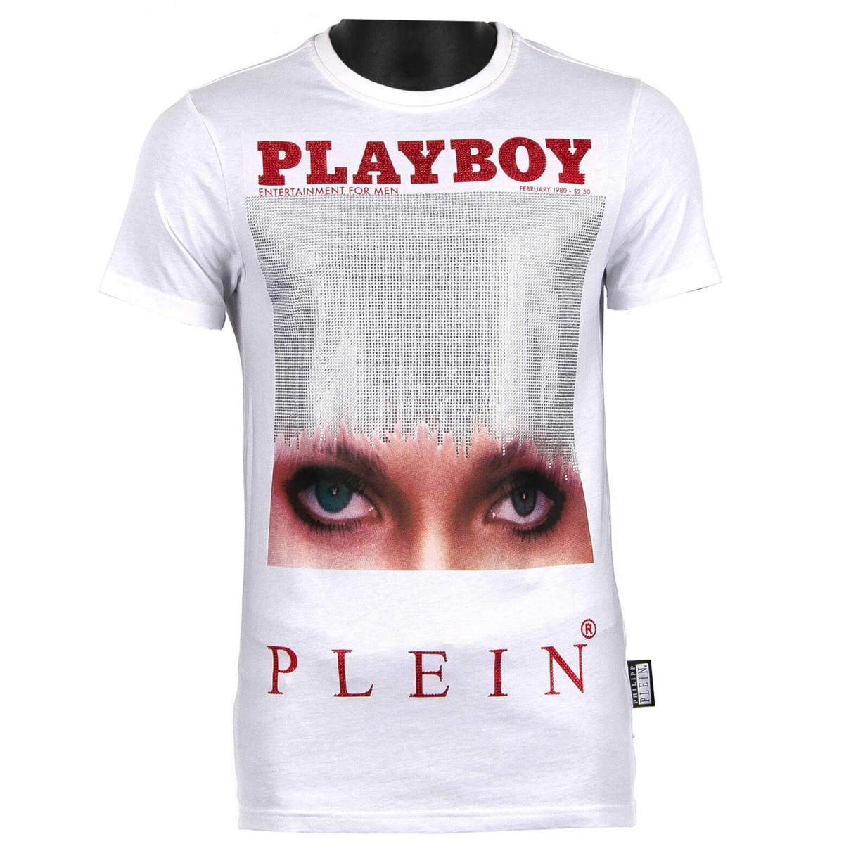 Philipp Plein \N White Cotton T-shirts for Men XL International