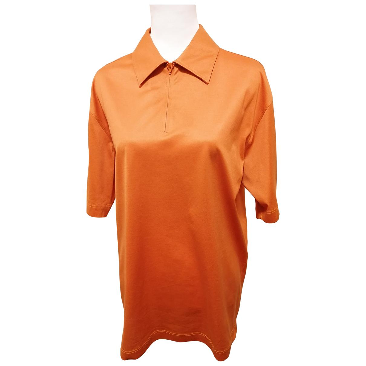 Harrington - Tee shirts   pour homme en coton - orange