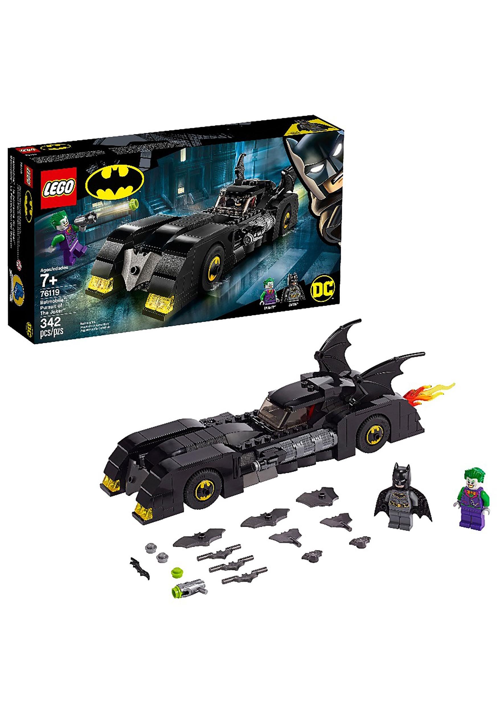 Super Heroes Batmobile: Pursuit of the Joker LEGO set