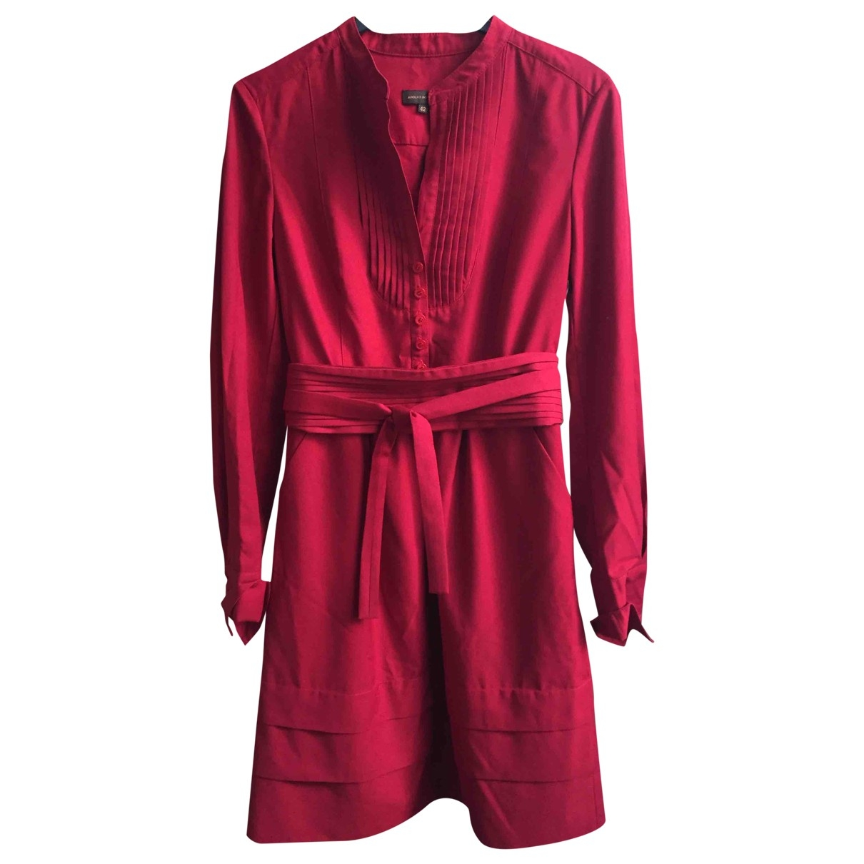 Adolfo Dominguez \N Red dress for Women 42 FR