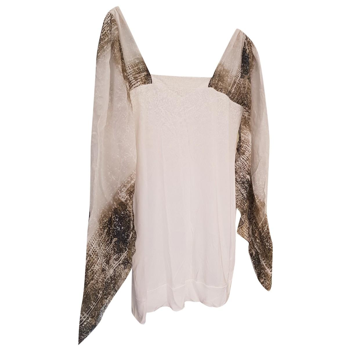 Ermanno Scervino \N White Silk Knitwear for Women 44 IT