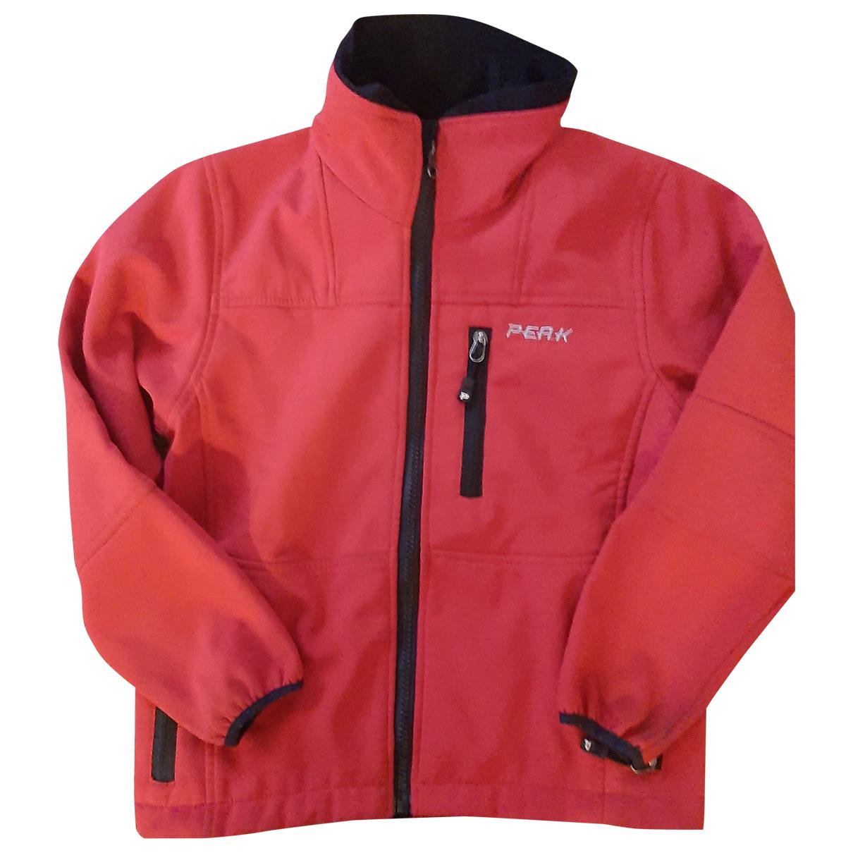 Peak Performance - Blousons.Manteaux   pour enfant - rouge