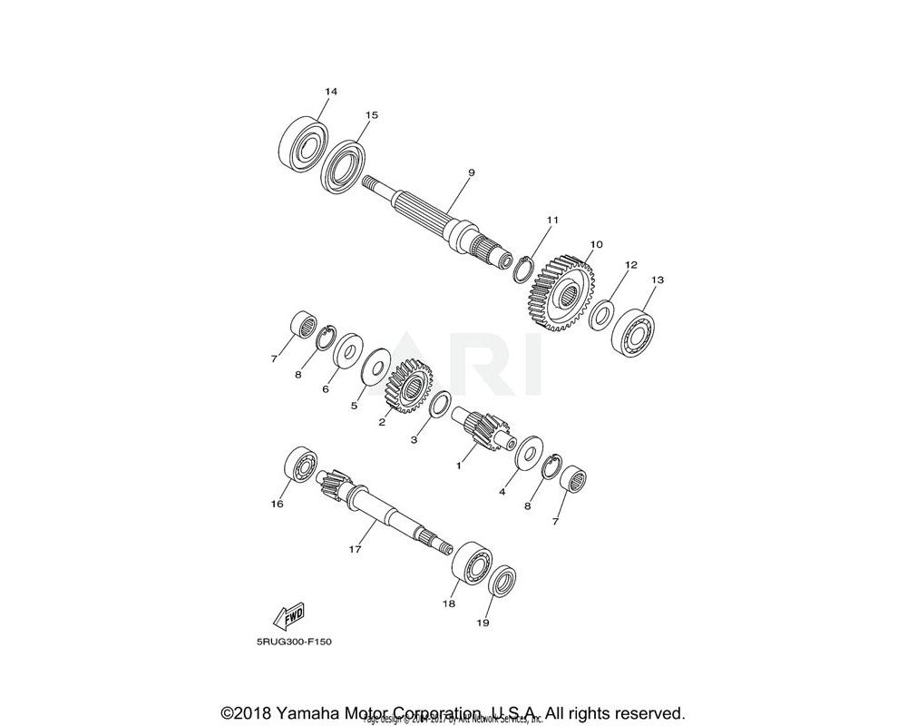 Yamaha OEM 90201-20027-00 WASHER, PLATE