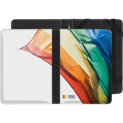 PocketBook Touch 622 eBook Reader Huelle - Rainbow Flag  von caseable Designs