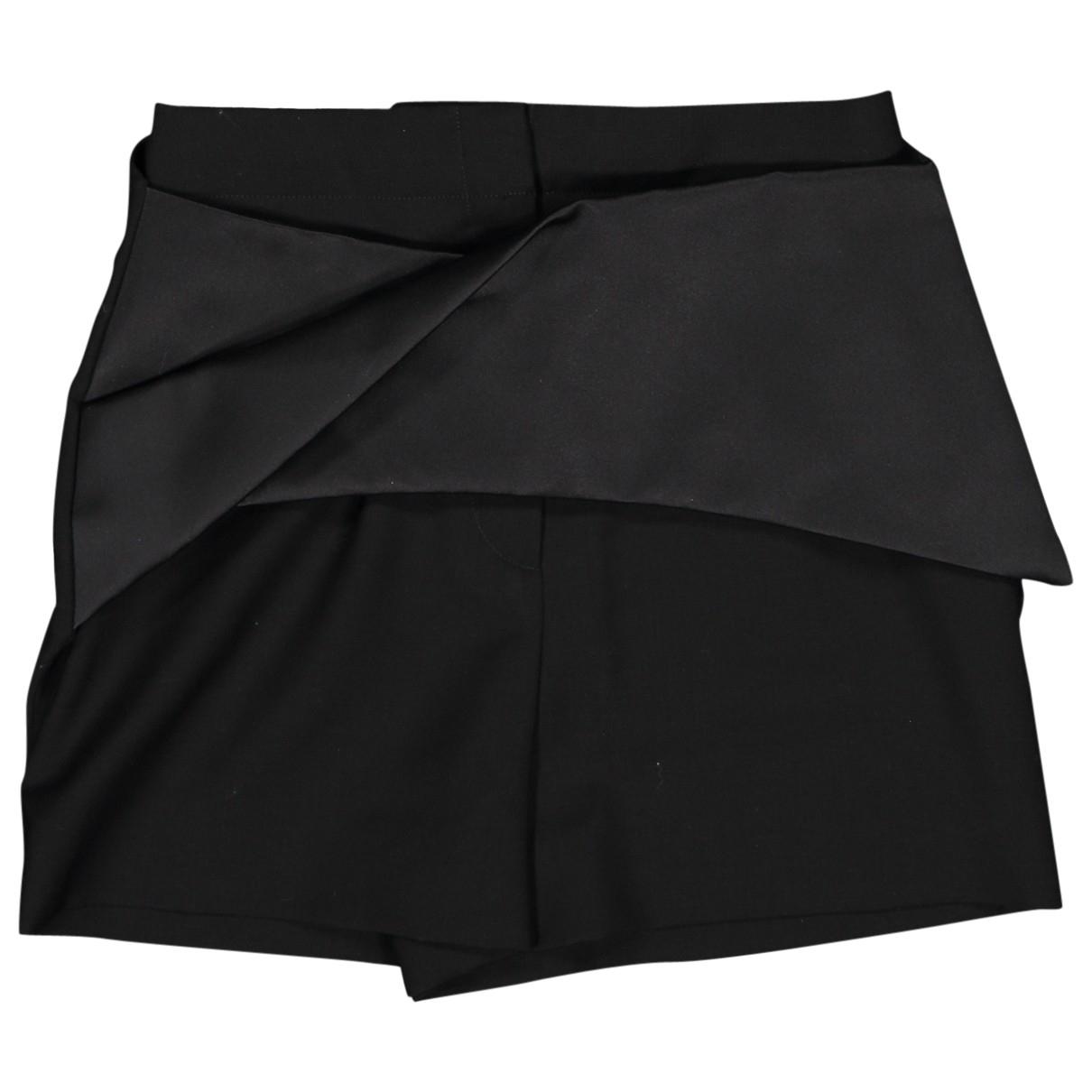 Balenciaga \N Black Wool Shorts for Women 34 FR