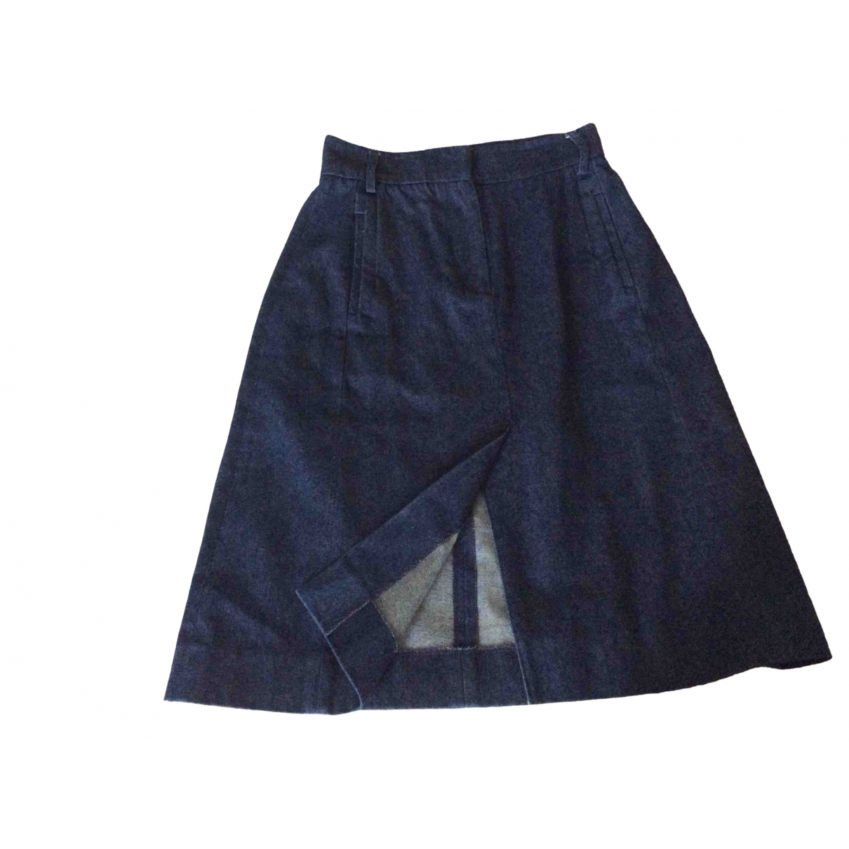 Antipodium \N Blue Cotton skirt for Women 6 UK