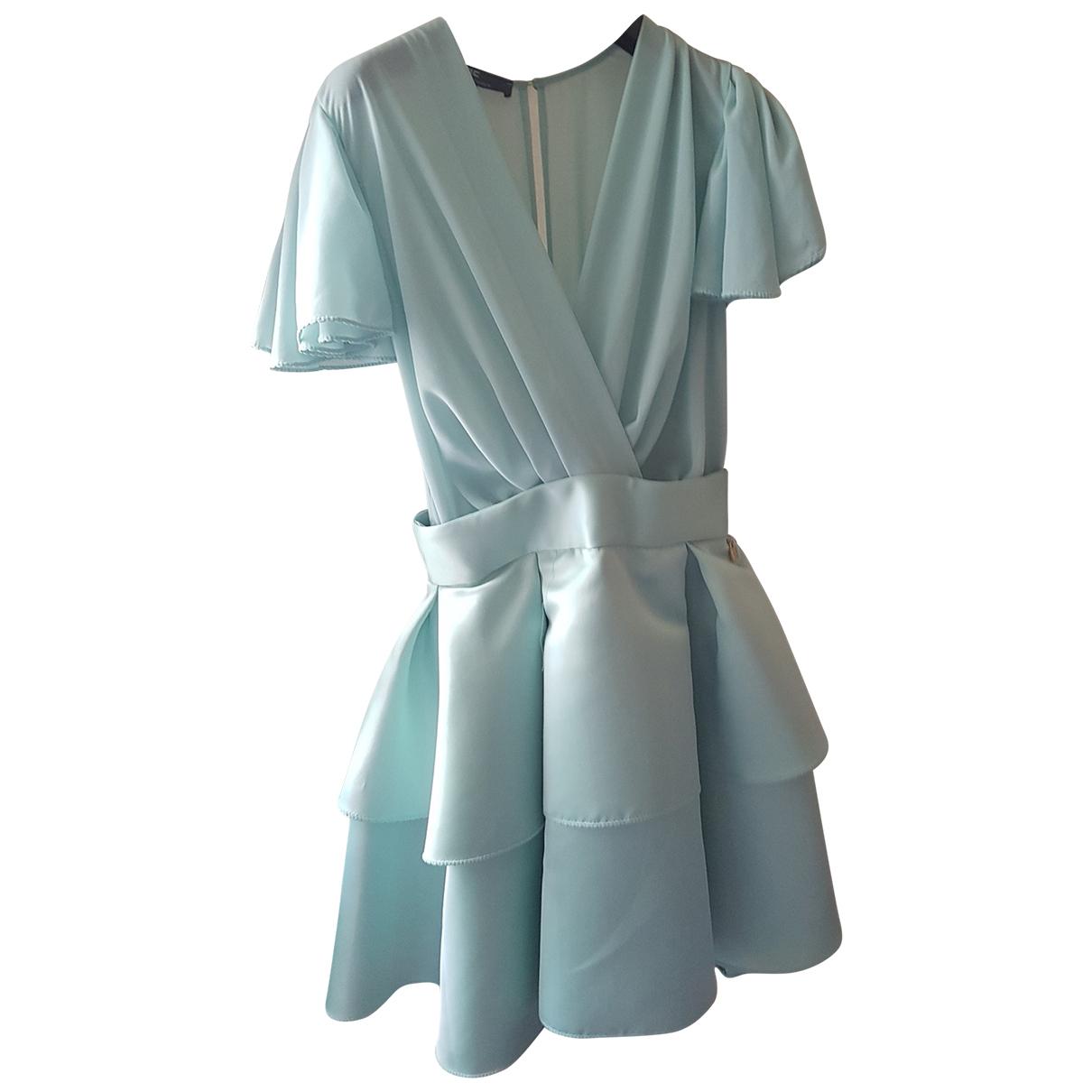 Elisabetta Franchi \N Kleid in  Gruen Polyester