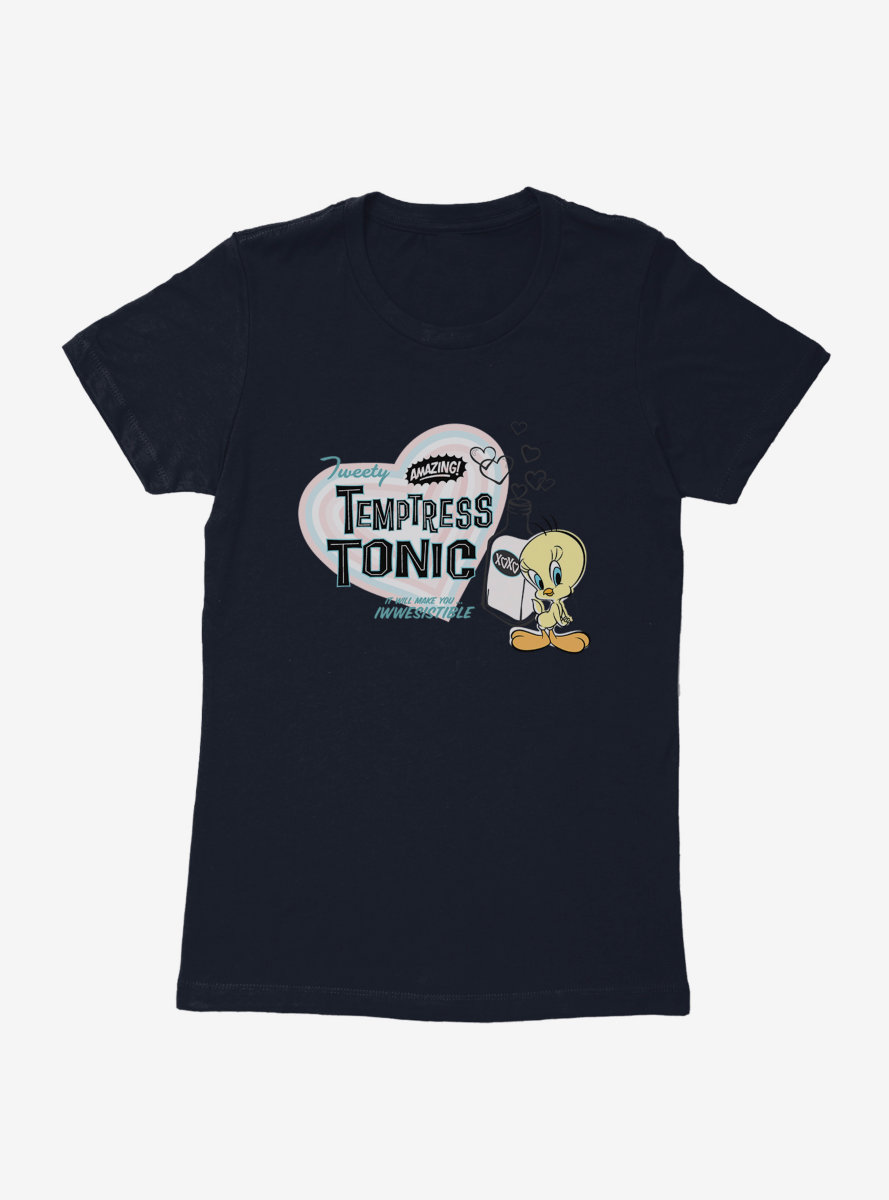 Looney Tunes Summer Fun Temptress Tonic Womens T-Shirt