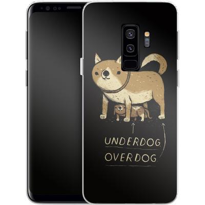 Samsung Galaxy S9 Plus Silikon Handyhuelle - Underdog Overdog von Louis Ros