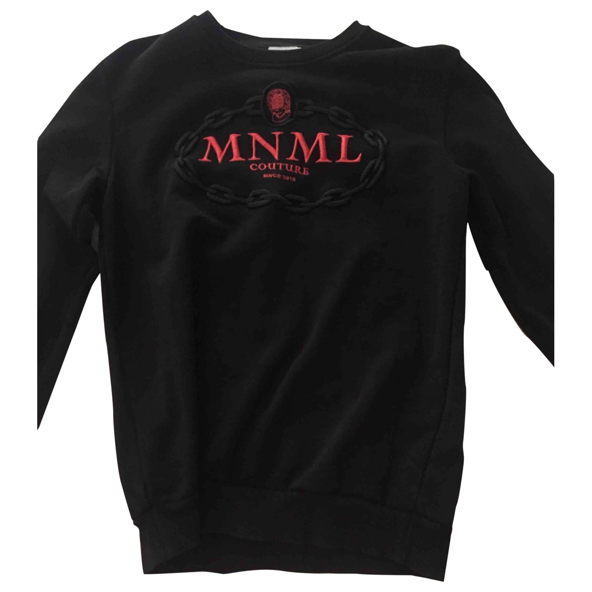 Non Signé / Unsigned \N Black Cotton Knitwear for Women M International