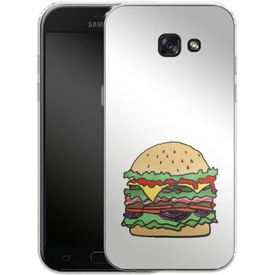Samsung Galaxy A5 (2017) Silikon Handyhuelle - Burger von caseable Designs
