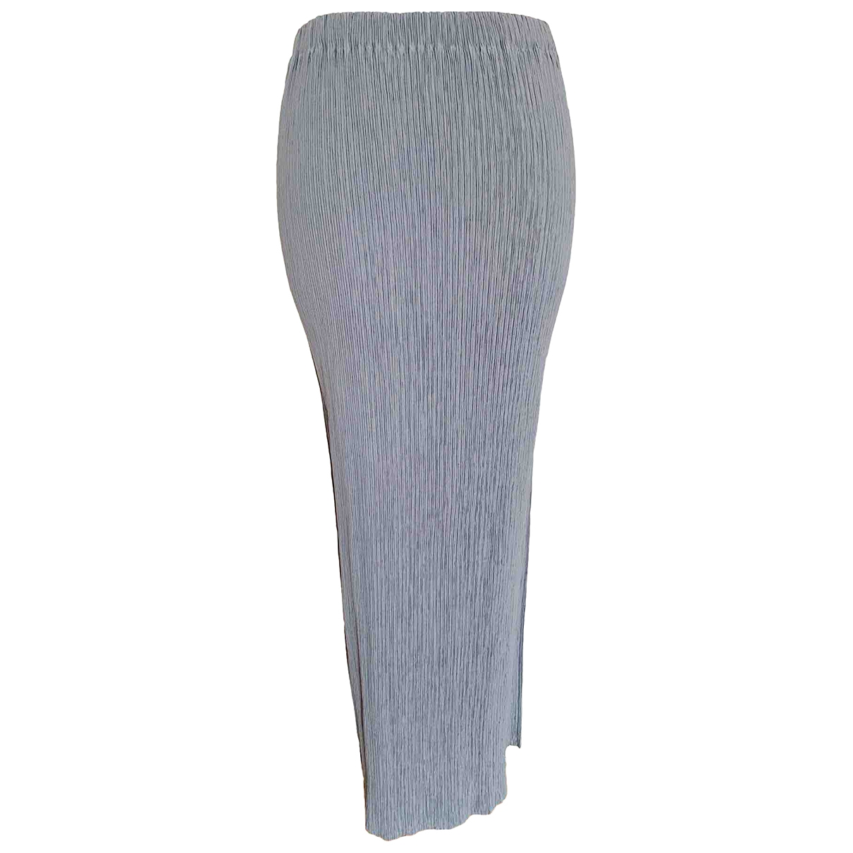 Issey Miyake - Jupe   pour femme - gris