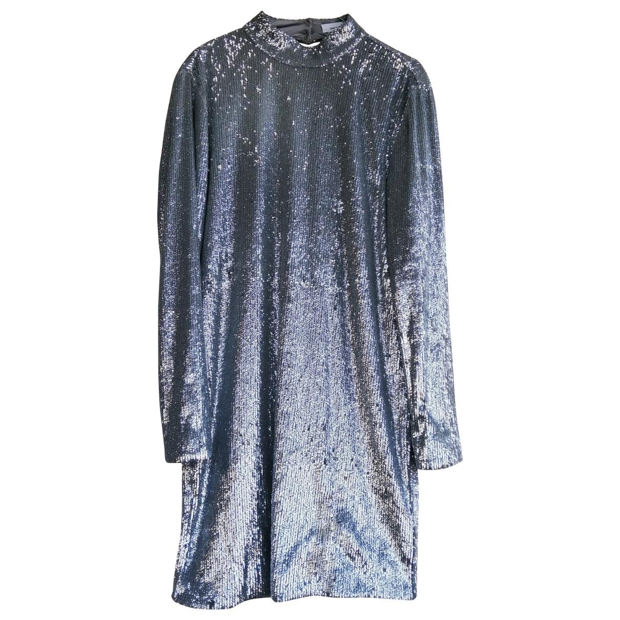 Samsoe & Samsoe \N Silver Glitter dress for Women S International